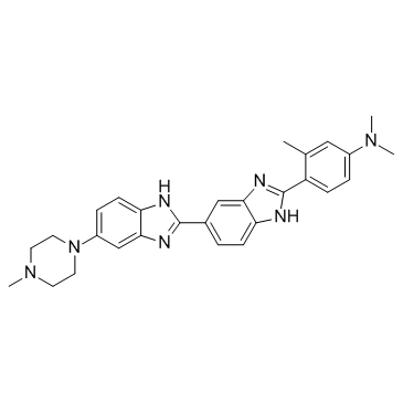 Methylproamine, fluorescent DNA stain for bacteria or eukaryote cells.